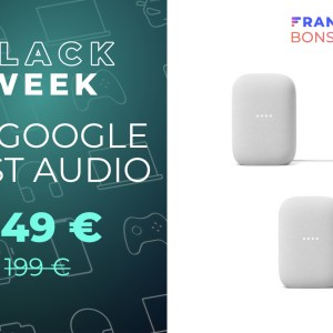 Fnac propose 50 euros de remise pour l'achat de deux Google Nest Audio