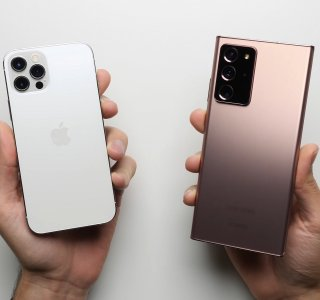 iPhone 12 Pro et Galaxy Note 20 Ultra : l'Apple A14 surpasse largement le Snapdragon 865 Plus