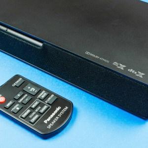 Test de la Panasonic SoundSlayer SC-HTB01: une barre de son onéreuse coincée entre deux mondes