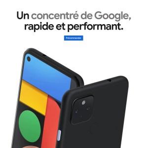 Le Google Pixel 4a 5G est disponible en précommande avec le Bose QC 35 II
