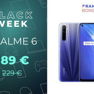 Le Realme 6, équipé d'un écran 90 Hz, est en promo à moins de 200 €