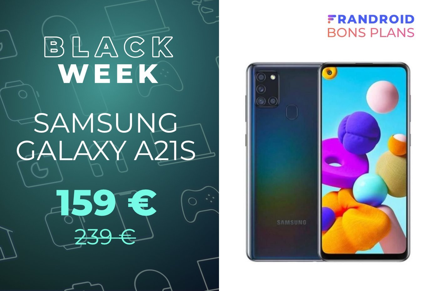 Cdiscount propose un smartphone Samsung à seulement 159 euros