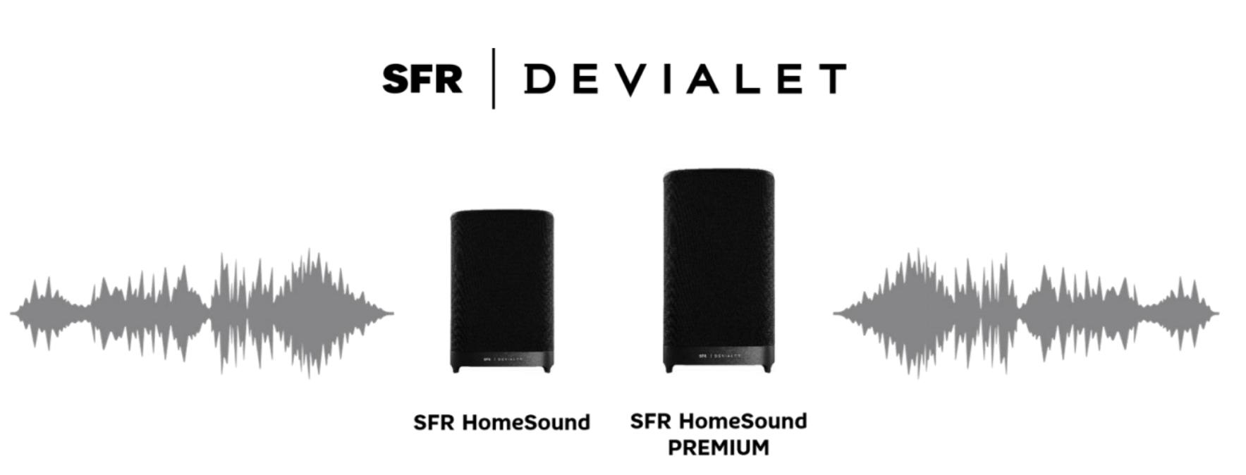 SFR lance une enceinte connectée avec Alexa créée aux côtés de Devialet