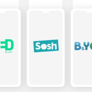 Les meilleurs forfaits mobile du moment sont chez Sosh, RED et B&You
