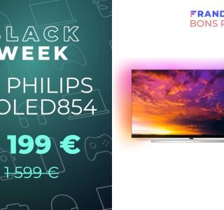 Une TV OLED compatible HDR10+ et Dolby Vision à 1 199 € pour le Black Friday