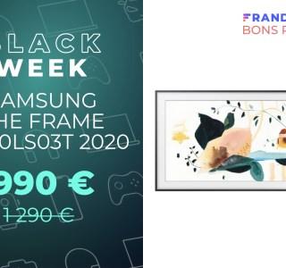 Le récent TV QLED Samsung The Frame de 50″ chute sous les 1 000 € via ODR