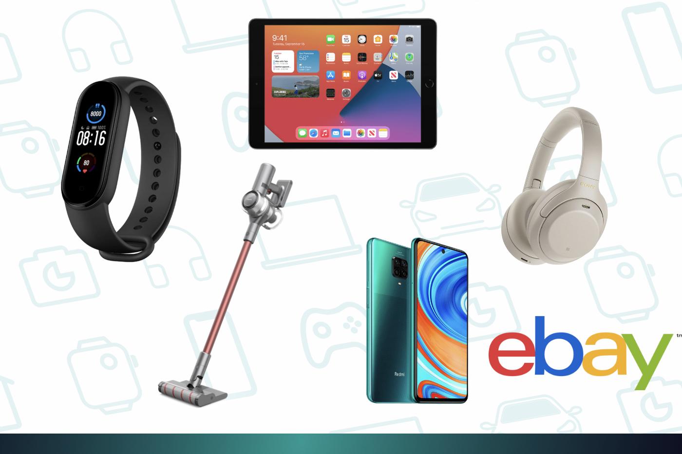 eBay: encore une vague de prix bas sur l'iPad2020, le Redmi Note9, le Mi Band5…