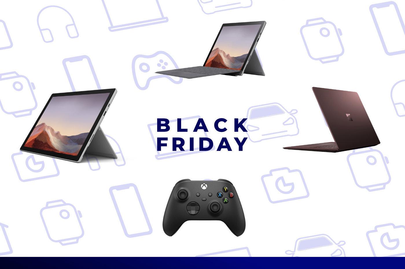 Pour le Black Friday, Microsoft baisse ses prix de plusieurs centaines d'euros sur ses Surface Pro, Go et Laptop