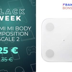 La balance connectée de Xiaomi s'affiche à un prix très bas sur Amazon