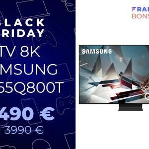 Testé cette semaine à la rédaction, ce TV 8K est à -1 500 € pour le Black Friday