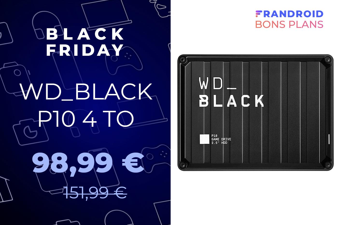 Profitez du Black Friday pour obtenir ce HDD gaming 4 To à -35 %