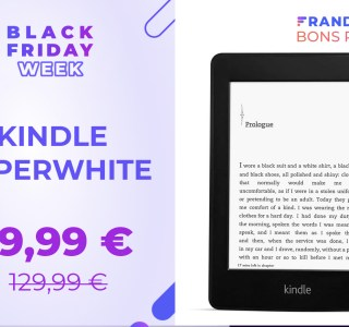 Kindle Paperwhite : la célèbre liseuse d'Amazon est à -31 % pour le Black Friday