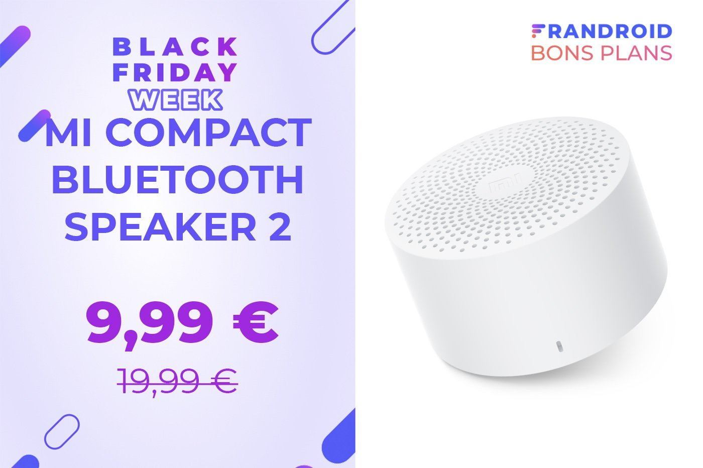 Cette mini enceinte Bluetooth Xiaomi est à moins de 10 euros pour le Black Friday