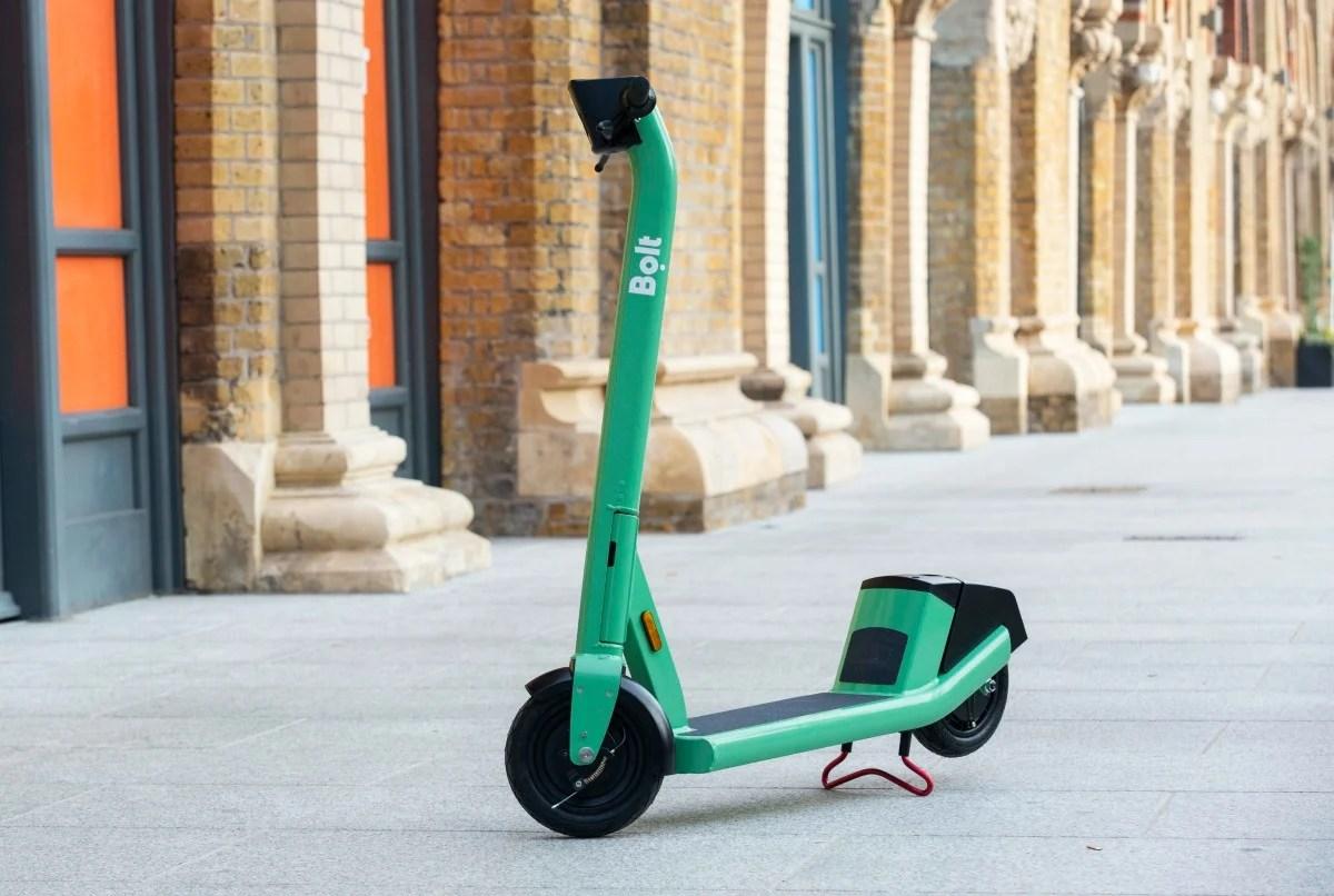 Trottinette électrique: Bolt révèle un nouveau modèle avec batterie amovible