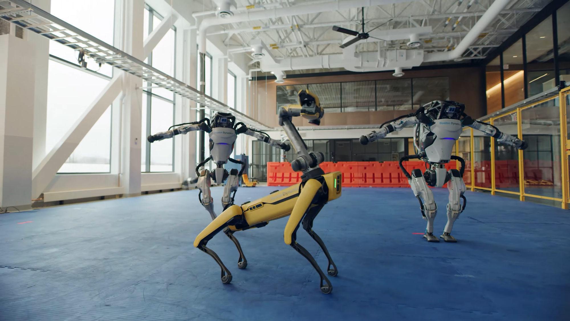 Les robots de Boston Dynamics se mettent à danser (mieux que vous)