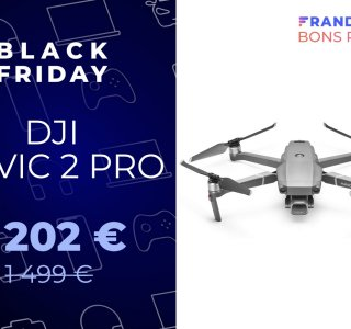 DJI Mavic 2 Pro : un drone encore plus excellent avec -300 € pour le Black Friday