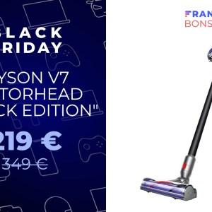Black Friday : l'aspirateur Dyson V7 Motorhead tombe sous les 220 €