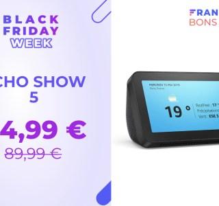 L'Amazon Echo Show 5 est disponible à moitié prix pour le Black Friday