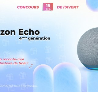 #FrandroidOffreMoi un Amazon Echo 2020
