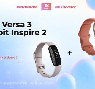 #FrandroidOffreMoi des Fitbit Versa 3 et Inspire 2