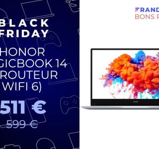 Pour le Black Friday, offrez-vous le MagicBook 14 d'Honor pour seulement 511 euros