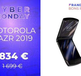 Le Motorola RAZR 2019 est encore moins cher pour le Cyber Monday