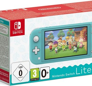 Le Pack Nintendo Switch Lite Turquoise + Animal Crossing à  moins de 200 euros !