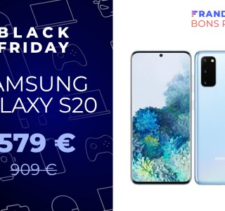 Cdiscount casse le prix du Samsung Galaxy S20 pour le Black Friday