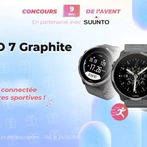 #FrandroidOffreMoi une montre connectée WearOS Suunto 7 Graphite