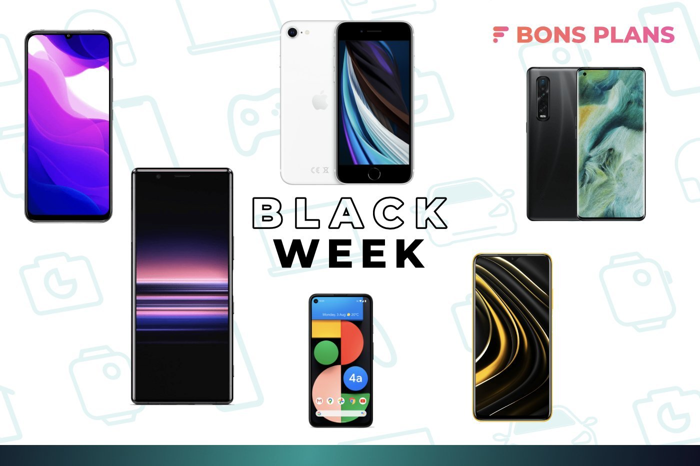 Il est temps de changer de smartphone avec le Black Friday : voici le TOP 15