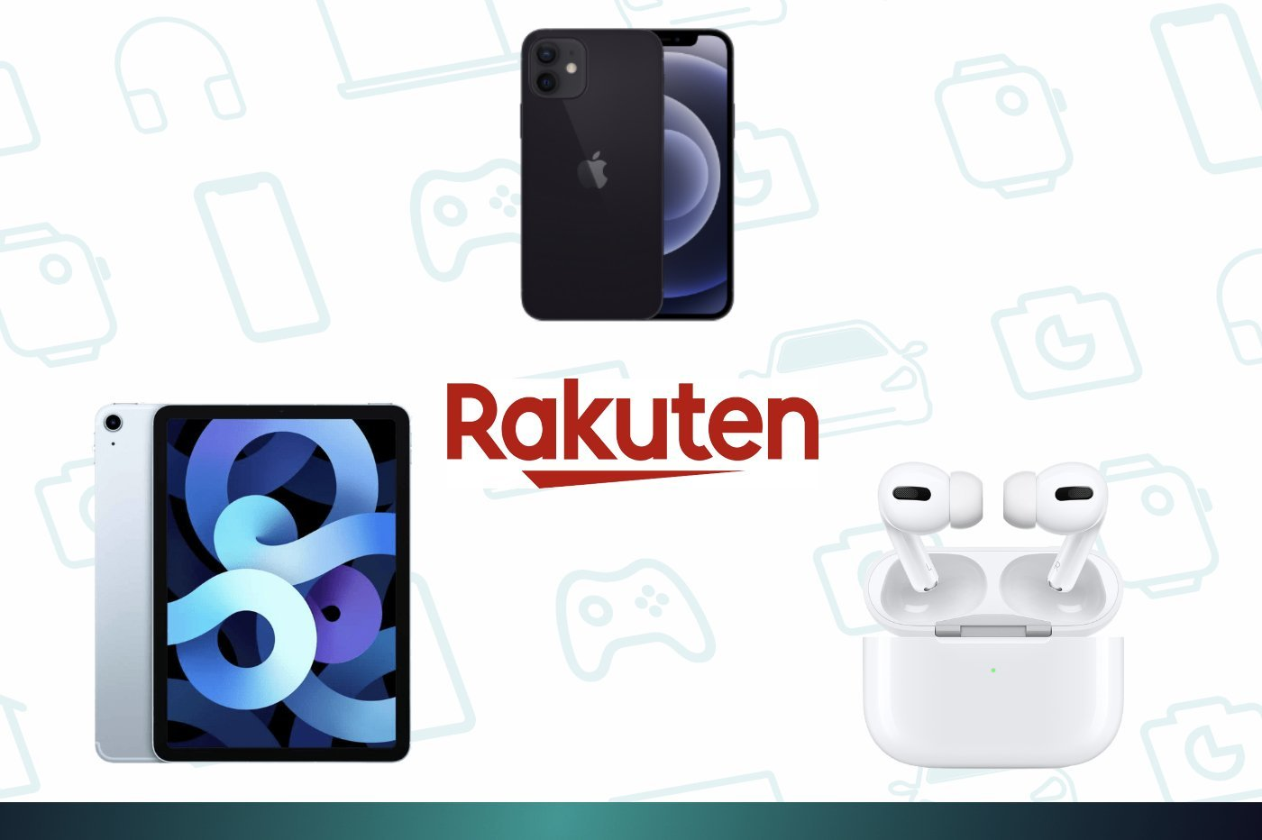 Black Friday Rakuten : iPhone 12, Airpods Pro et iPad Air en forte baisse grâce à un code promo