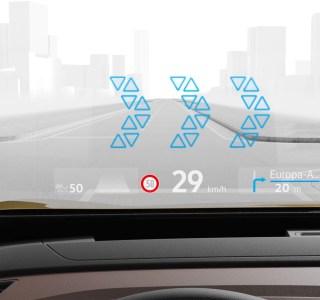 VolkswagenID.3 et ID.4: l'affichage en réalité augmentée s'invite sur le pare-brise