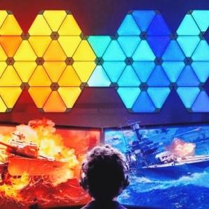 Xiaomi veut concurrencer Nanoleaf avec ses panneaux lumineux à prix cassé