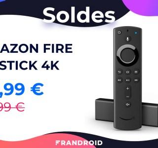 Le prix du Fire TV Stick 4K d'Amazon baisse de 20 € pendant les soldes