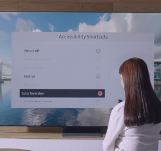 Langue des signes, détection des couleurs, sous-titres mobiles: Samsung rend ses TV plus accessibles
