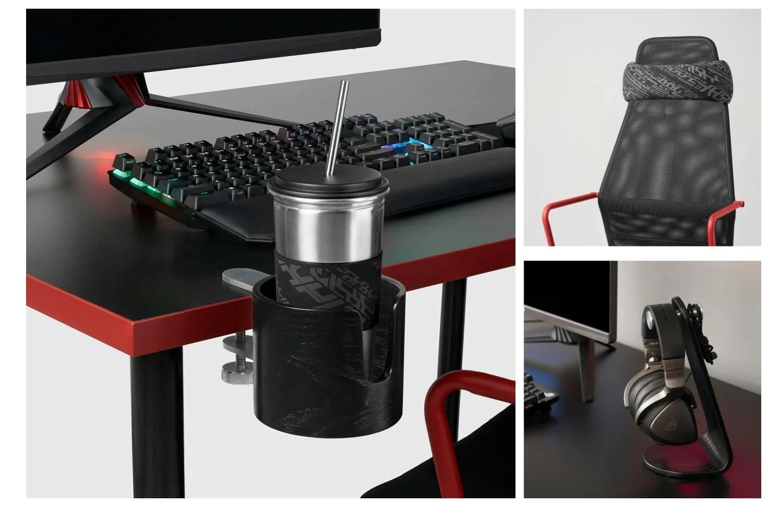 Ikea + Asus ROG: voici les premiers produits nés de cette collaboration