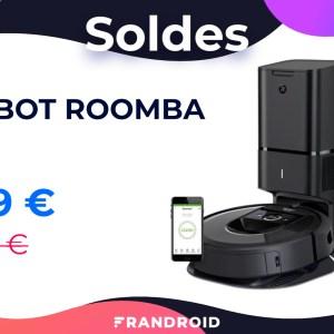 iRobot Roomba i7+ : cet excellent robot aspirateur est soldé à -27 %