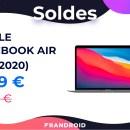 Le nouveau MacBook Air M1 ne coûte pas plus de 1 000 € pour les soldes