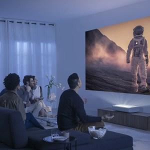 Test du Samsung The Premiere LSP7 : un vidéoprojecteur laser UHD pour recréer l'effet cinéma