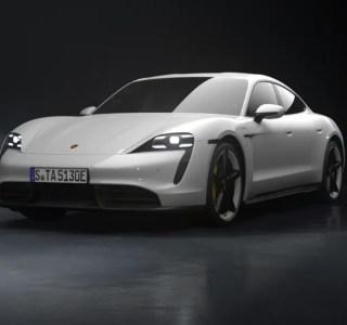 Porsche officialise une nouvelle Taycan électrique, la plus abordable de la gamme