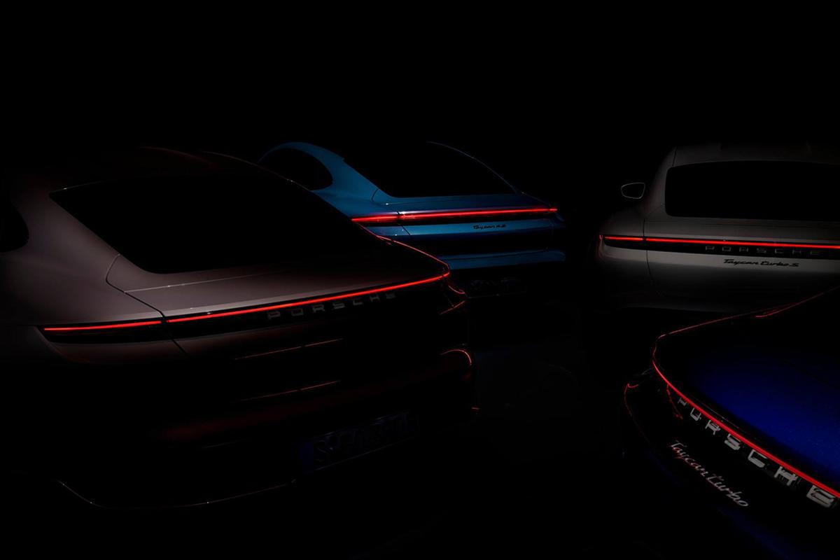 Taycan: Porsche tease l'arrivée d'une version «entrée de gamme»