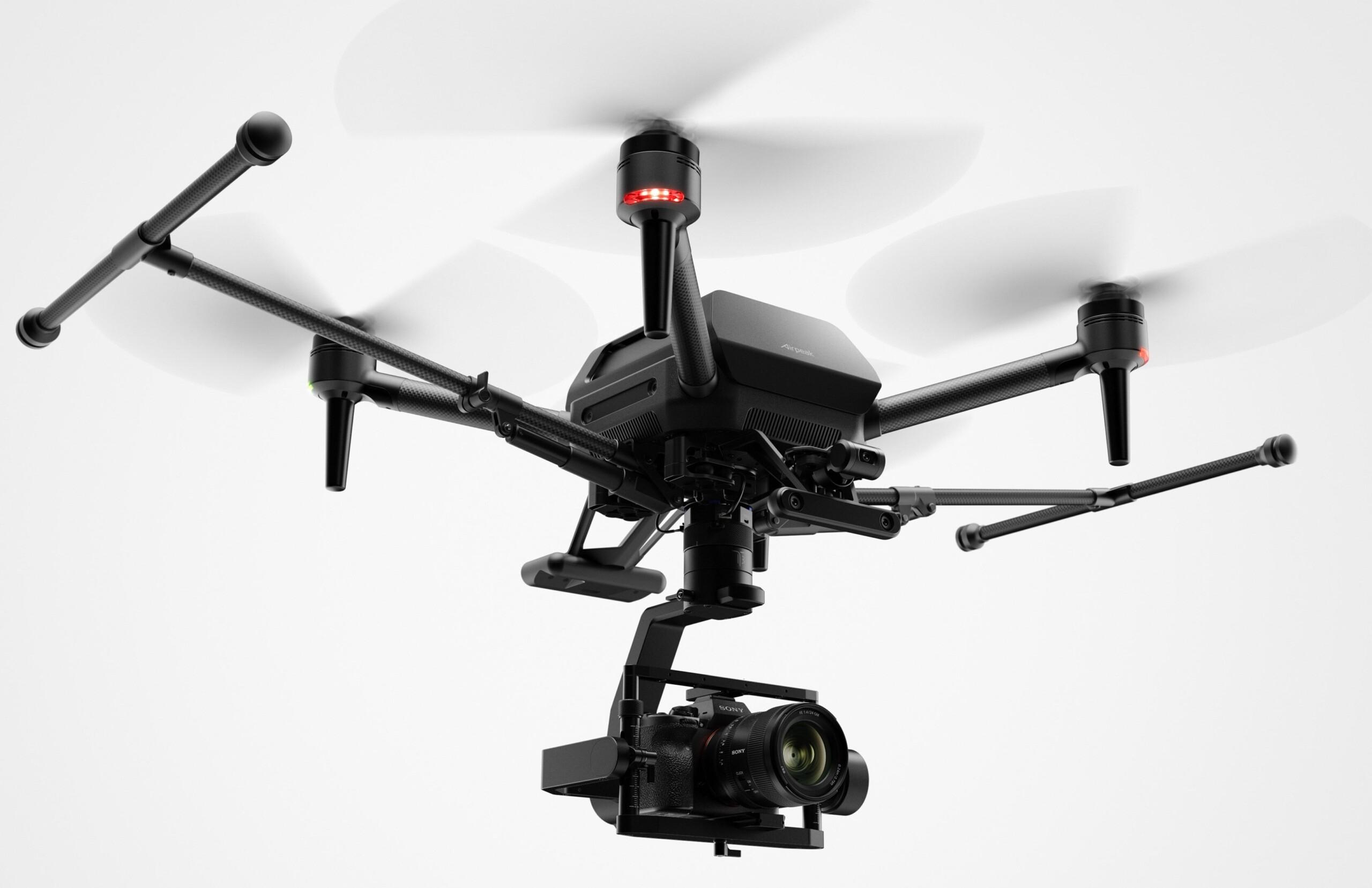 Sony dévoile l'Airpeak, son drone quadrirotor dédié aux vidéastes