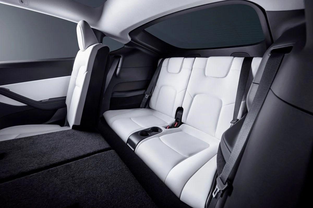 Tesla Model Y 7 places : la troisième rangée ne semble pas adaptée aux adultes