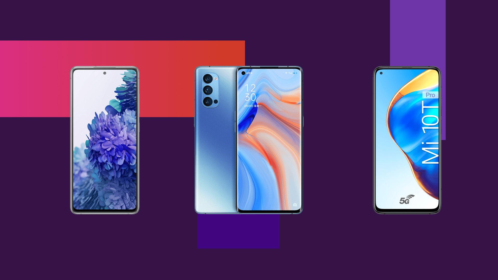 Soldes SFR : le Galaxy S20 FE, le Reno4 Pro ou le Xiaomi Mi 10 Pro aux prix les plus bas du moment