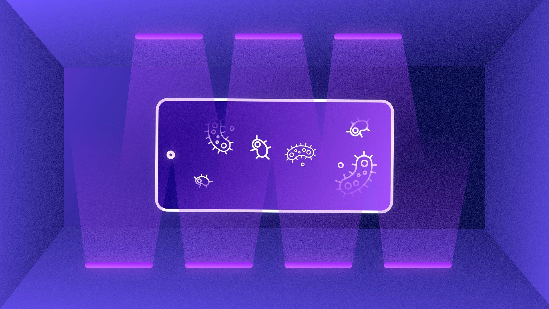 Comment les rayons UV permettent-ils de désinfecter vos appareils?
