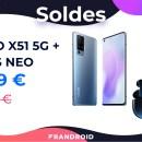Pour les soldes, le Vivo X51 5G profite d'une baisse de prix de 200 euros