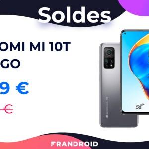 Pendant les soldes, le prix du Xiaomi Mi 10T chute de 50 euros