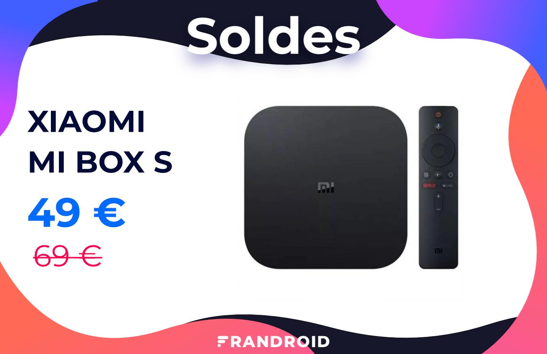 La Xiaomi Mi Box S est moins cher grâce à ce code promo spécial soldes 2021