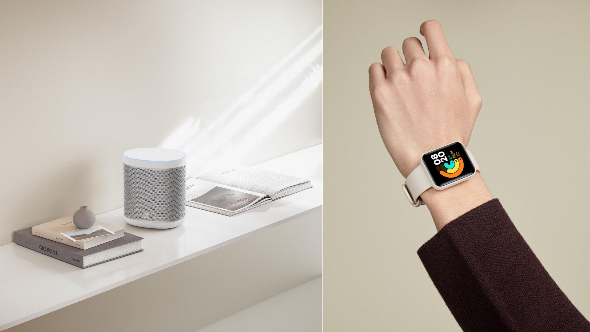 Xiaomi Mi Watch Lite et Mi Smart Speaker: la France accueille les deux produits