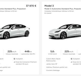 Le prix de la Tesla Model3 en France est aussi volatil que le Bitcoin